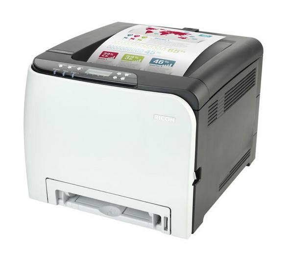 New Driver: Ricoh SP C250SF Printer Network TWAIN