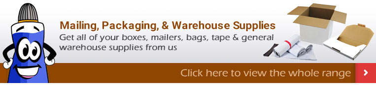 Mailing, Packaging, & Warehouse Supplies