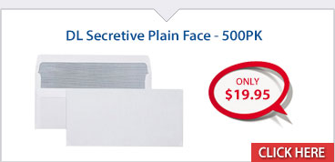 DL Secretive Plain Face - 500PK